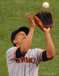 S.F. Giants, San Francisco Giants, 2012, Photo, Emmanuel Burriss