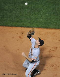 S.F. Giants, San Francisco Giants, 2012, Photo, Brandon Belt