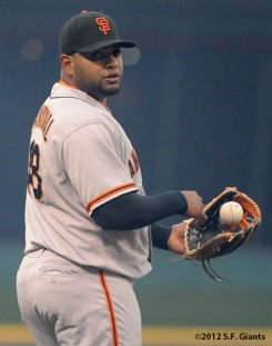 S.F. Giants, San Francisco, 2012, photo, Pablo Sandoval