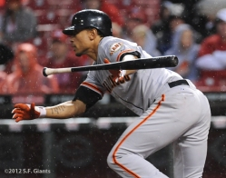 S.F. Giants, San Francisco Giants, Photo, 2012, Emmanuel Burriss