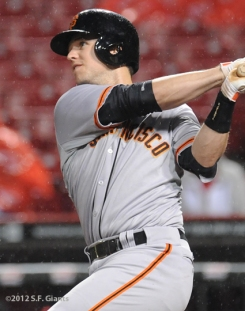 Buster Posey, S.F. Giants, San Francisco Giants, Photo, 2012