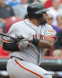 S.F. Giants, San Francisco Giants, photo, 2012, Pablo Sandoval