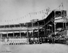 S.F. Giants, San Francisco Giants, NY Giants, New York Giants, Photo, 1888, Polo Grounds