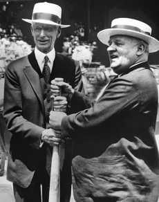 S.F. Giants, San Francisco Giants, Photo, New York Giants, Hall of Fame, John McGraw, Connie Mack
