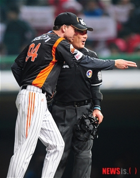 S.F. Giants, San Francisco Giants, Photo, Ryan Sadowski, Lotte Giants, South Korea