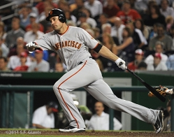 Pat Burrell, S.F. Giants, San Francisco Giants, 2012, Photo