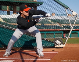 S.F. Giants, San Francisco Giants, Photo, Charlie Culberson