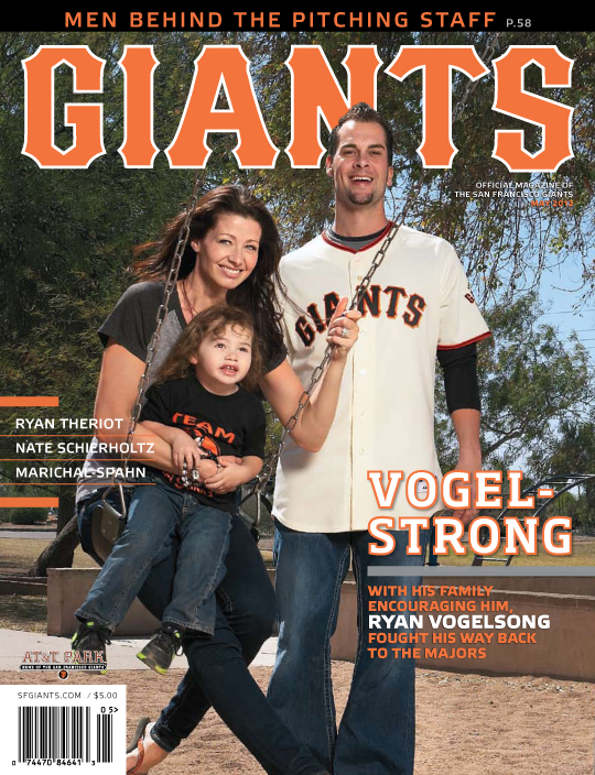 S.F. Giants, Giants Magazine, Ryan Vogelsong