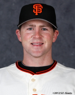 Eric Hacker, S.F. Giants, San Francisco Giants, photo, 2012