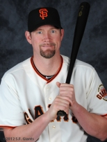 S.F. Giants, San Francisco Giants, Photo, Aubrey Huff