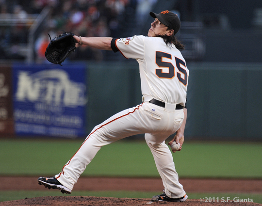 S.F. Giants, San Francisco Giants, Photo, Tim Lincecum