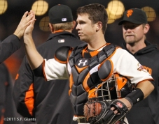 S.F. Giants, San Francisco Giants, Buster Posey, Photo