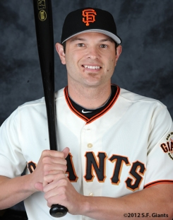 Freddy Sanchez, 2012, Photo, S.F. Giants, San Francisco Giants