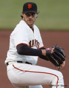 Barry Zito, S.F. Giants, San Francisco Giants, 2012, Photo