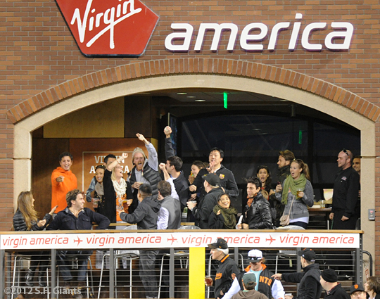 sf giants, fans, san francisco giants, photo, 2012