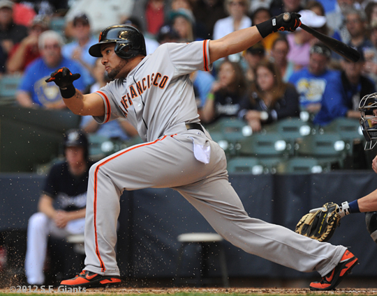 sf giants, san francisco giants, 2012, photo, melky cabrera