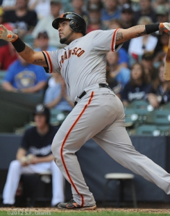 hector sanchez, sf giants, san francisco gians, photo, 2012