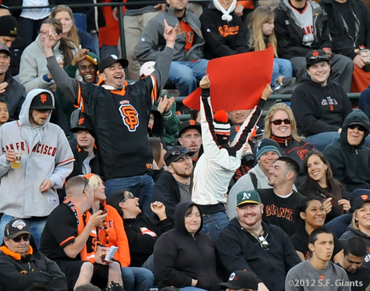 sf giants, san francisco, 2012, photo, fans