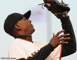 sf giants, san francisco giants, joaquin arias, photo, 2012
