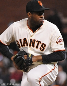 santiago casilla, sf giants, san francisco, photo, 2012