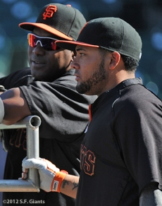 sf giants, san francisco giants, photo, 2012, melky Cabrera, bambam meulens