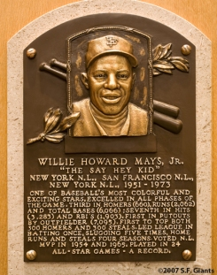 willie mays, hall of fame, sf giants, san francisco giants, ny giants, new york giants, cooperstown