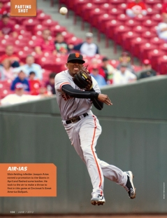 sf giants magazine, june, joaquin arias