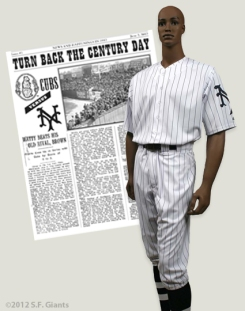 sf giants, san francisco giants, photo, 2012, 1912 Turn Back The Clock uniform