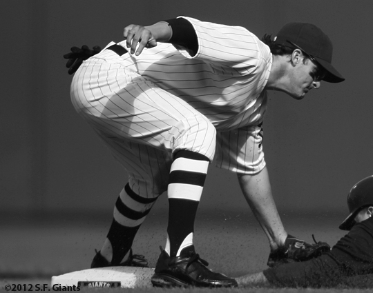 ny giants, san francisco giants, sf giants, turn back the clock, turn back the century, 2012, 1912, photo, ryan theriot