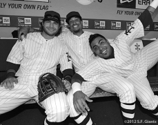 Fun in the Dugout with Crawford, Burriss & Sanchez