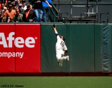 San Francisco Giants, S.F. Giants, photo, 2012, Angel Pagan
