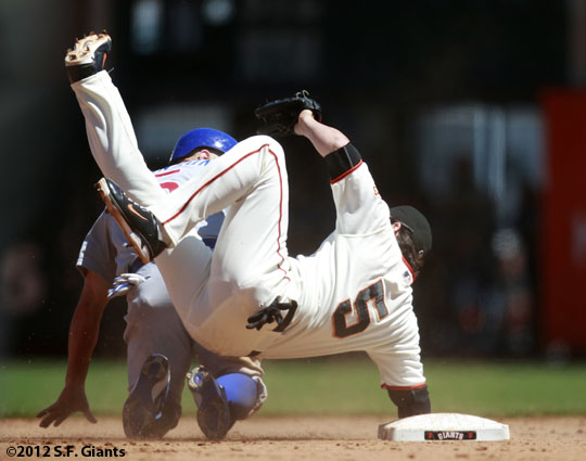 San Francisco Giants, S.F. Giants, photo, 2012, Ryan Theriot