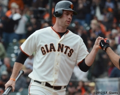 sf giants, san francisco giants, photo, brandon belt, 2012