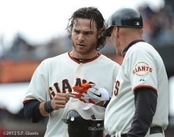 sf giants, san francisco giants, photo, brandon crawford, 2012
