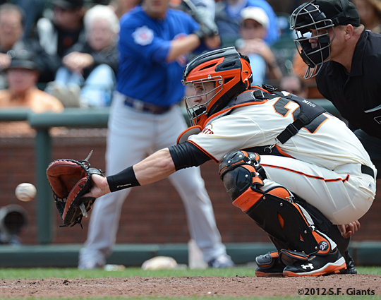 sf giants, san francisco giants, photo, buster posey, 2012