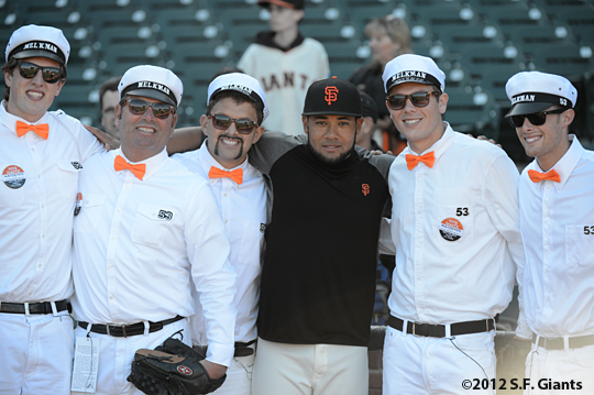 Melk Men, melky cabrera, sf giants, san francisco giants, photo, 2012