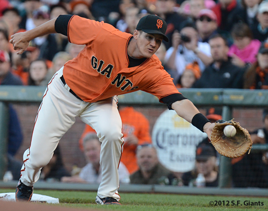 Brett Pill, sf giants, san francisco giants, photo, 2012