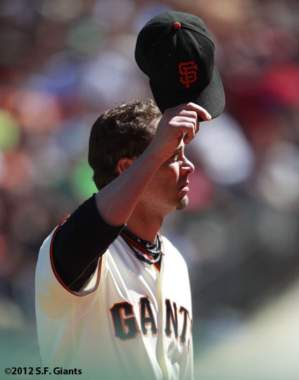 San Francisco Giants, S.F. Giants, photo, 2012, Ryan Vogelsong