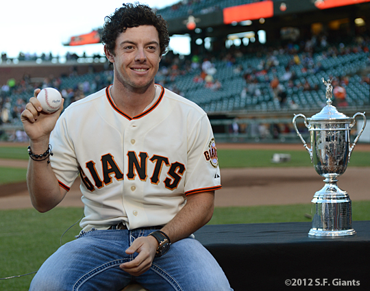 sf giants, san francisco giants, photo, 2012, rory mcilroy