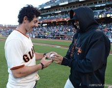 sf giants, san francisco giants, photo, 2012, rory mcilroy, sergio romo