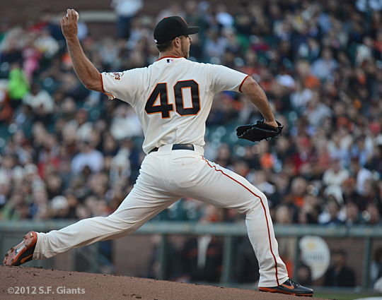 sf giants, san francisco giants, 2012, photo, madison bumgarner