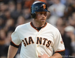 nate scheirholtz, sf giants, san francisco giants, photo, 2012