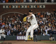sf giants, san francisco giants, matt cain, perfect game, 2012, June 13, AT&T Park, K