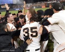 sf giants, san francisco giants, matt cain, perfect game, 2012, June 13, AT&T Park, team