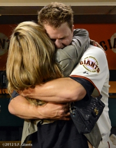 sf giants, san francisco giants, matt cain, perfect game, 2012, June 13, AT&T Park, chelsea cain
