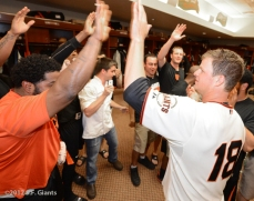 Clubhouse celebration