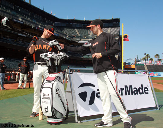 San Francisco Giants, S.F. Giants, photo, 2012, Clay Hensley, Shane Loux