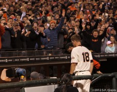San Francisco Giants, S.F. Giants, photo, 2012, Matt Cain, perfect game