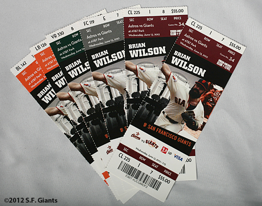 matt cain, perfect game, june 13, 2012, sf giants, san francisco giants, photo, game tickets