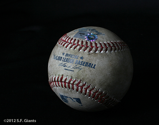 matt cain, perfect game, june 13, 2012, sf giants, san francisco giants, photo, ball